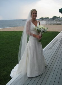 My sister, the bride.